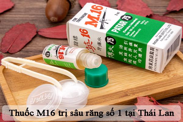 Thuốc trị sâu răng M16 bán chạy số 1 tại Thái Lan